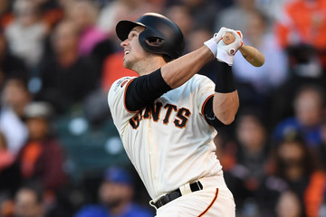 Buster Posey Division Series - Chicago Cubs v San Francisco Giants- Game Four