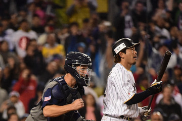 Buster Posey World Baseball Classic - Championship Round - Game 2 - United States v Japan