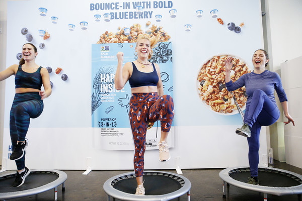Hi! Happy Inside Gut Check Gym With Busy Philipps