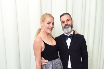 Busy Philipps Marc Silverstein 26th Annual Elton John AIDS Foundation Academy Awards Viewing Party With Cocktails by Clase Azul Tequila