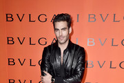 Jon Kortajarena attends the Bvlgari B.zero1 Rock collection event at Duggal Greenhouse on February 06, 2020 in Brooklyn, New York.
