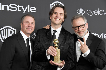Byron Howard Rich Moore Warner Bros. Pictures and InStyle Host 18th Annual Post-Golden Globes Party - Arrivals