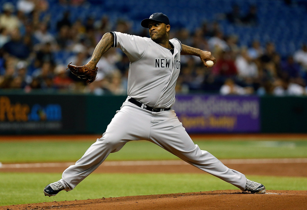 C.C. Sabathia - New York Yankees v Tampa Bay Rays