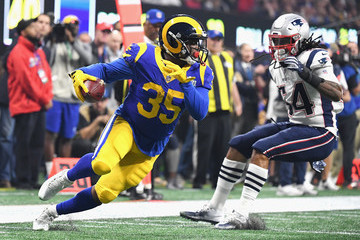 C.J. Anderson Best Moments from Super Bowl LIII