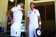 Kevin Pietersen and Stuart Broad Photos Photo
