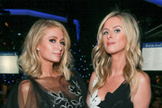 Paris Hilton (L) and Nicky Hilton Rothschild attend the CASA Of Los Angeles' 2018 Evening To Foster Dreams Galaat The Beverly Hilton Hotel on April 18, 2018 in Beverly Hills, California.