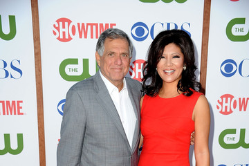 Leslie Moonves CBS, The CW & Showtime's 2011 TCA Party - Arrivals
