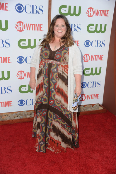 Actress Melissa McCarthy arrives at the TCA Party for CBS, The CW and Showtime held at The Pagoda on August 3, 2011 in Beverly Hills, California.
