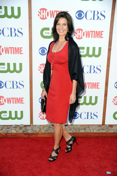 Actress Sela Ward arrives at the TCA Party for CBS, The CW and Showtime held at The Pagoda on August 3, 2011 in Beverly Hills, California.