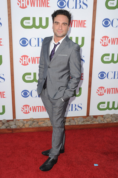 Actor Johnny Galecki arrives at the TCA Party for CBS, The CW and Showtime held at The Pagoda on August 3, 2011 in Beverly Hills, California.