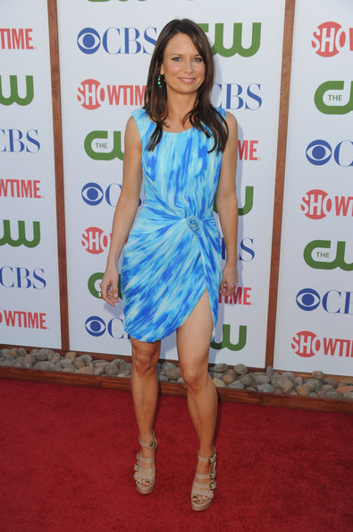 Actress Mary Lynn Rajskub arrives at the TCA Party for CBS, The CW and Showtime held at The Pagoda on August 3, 2011 in Beverly Hills, California.