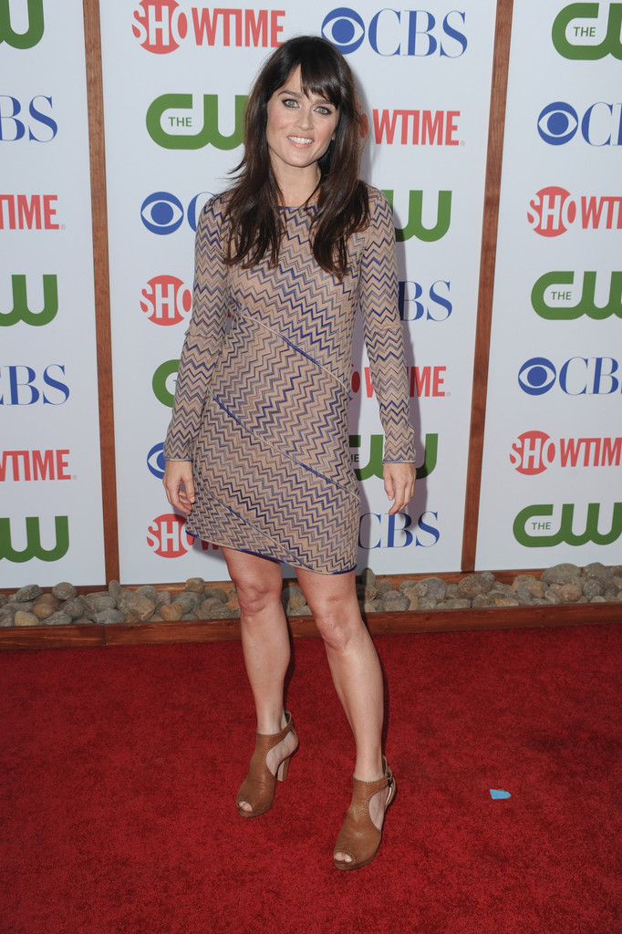 Actress Robin Tunney arrives at the TCA Party for CBS, The