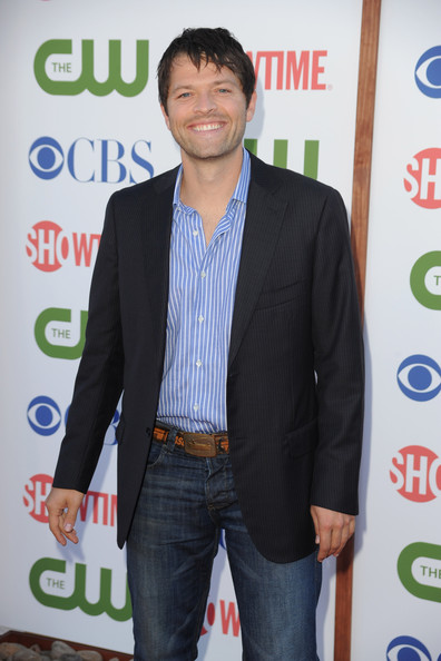 Actor Misha Collins arrives at the TCA Party for CBS, The CW and Showtime held at The Pagoda on August 3, 2011 in Beverly Hills, California.