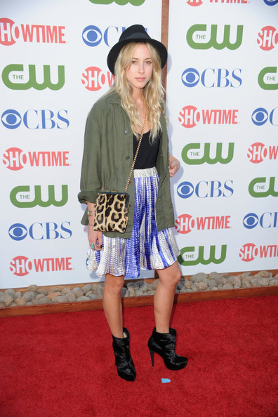 Actress Gillian Zinser arrives at the TCA Party for CBS, The CW and Showtime held at The Pagoda on August 3, 2011 in Beverly Hills, California.