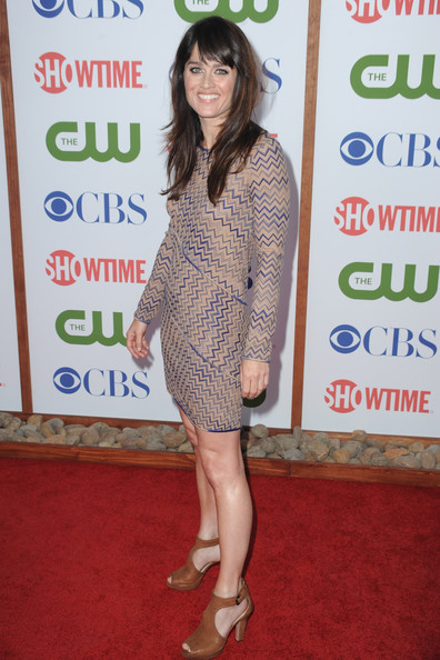 Actress Robin Tunney arrives at the TCA Party for CBS, The CW and Showtime held at The Pagoda on August 3, 2011 in Beverly Hills, California.