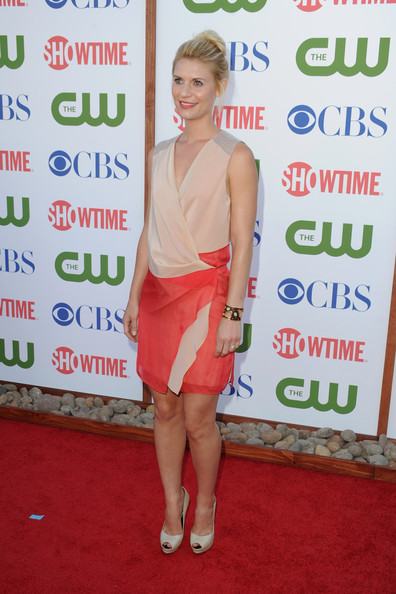 Actress Claire Danes arrives at the TCA Party for CBS, The CW and Showtime held at The Pagoda on August 3, 2011 in Beverly Hills, California.