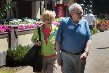 Astrid Buffett CEO's And Corporate Executives Gather For Annual Allan And Co Gathering In Sun Valley