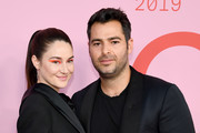 Shailene Woodley and Jonathan Simkhai attend the CFDA Fashion Awards at the Brooklyn Museum of Art on June 03, 2019 in New York City.
