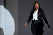 Jessica Williams speaks onstage during the CFDA Fashion Awards at the Brooklyn Museum of Art on June 03, 2019 in New York City.