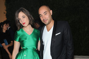 Erin Beatty and  Max Osterweis attend CFDA and Vogue 2013 Fashion Fund Finalists Celebration at Spring Studios on November 11, 2013 in New York City.
