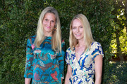 Haylynn Conrad (L) and Rachel Roberts attend the CHANEL Dinner Celebrating Our Majestic Oceans, A Benefit For NRDC on June 2, 2018 in Malibu, California.