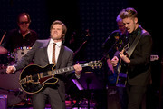 "Chris Carmack and Sam Palladio perform  onstage during CMT's ""Nashville"" In Concert Final Season Celebration at Grand Ole Opry House on March 25, 2018 in Nashville, Tennessee."