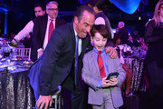 Christopher Meloni and Iain Armitage attend CNN Heroes 2017 at the American Museum of Natural History on December 17, 2017 in New York City. 27437_016