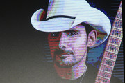 Artist Brad Paisley and RJ Curtis Vice President of VP Country, Nashville Editor and All Access Music Group speak onstage during day 2 of CRS 2018 on February 6, 2018 in Nashville, Tennessee.