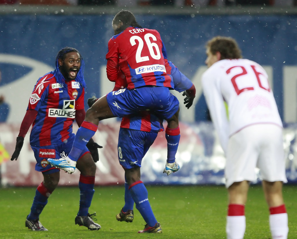 CSKA scored a goal for Spartak in added time 91