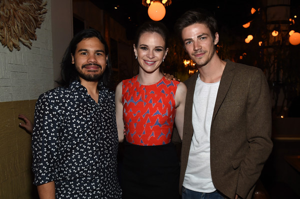 Grant gustin in the cw networks 2015 upfront party zimbio the cw networks 2015 upfront party m4hsunfo Image collections