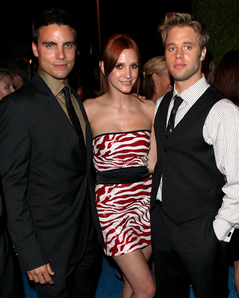 Ashlee Simpson Colin Egglesfield Shaun Sipos Colin Egglesfield And Shaun Sipos Photos Inside The Cw At T S Melrose Place Premiere Party Zimbio