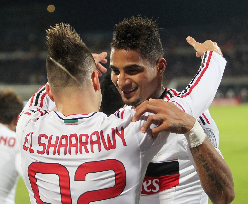 Kevin Prince Boateng Stephan El Shaarawy s &