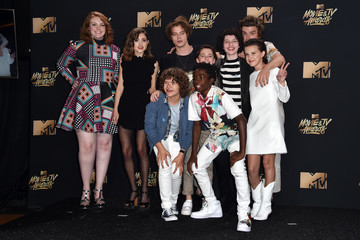 Caleb McLaughlin 2017 MTV Movie and TV Awards - Press Room