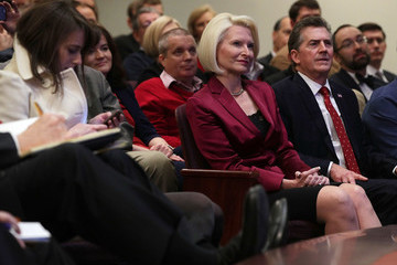 Callista Gingrich Newt Gingrich And Jim DeMint Hold Discussion On Principles Of Trumpism