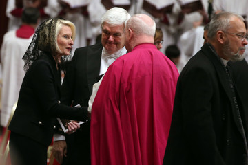 Callista Gingrich Vatican Funeral for Disgraced US Cardinal Law
