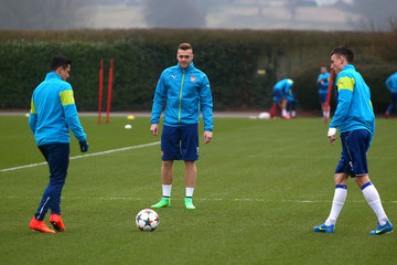 Callum Chambers Arsenal Training Session