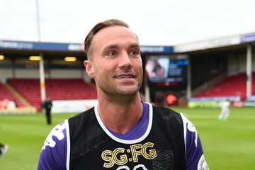 Calum Best Sellebrity Soccer Match
