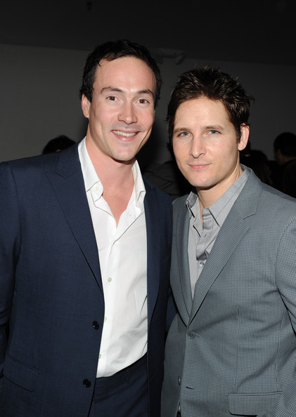 (l-r) Actors Chris Klein and Peter Facinelli pose at Calvin Klein Collection & Los Angeles Nomadic Division (LAND) 1st Annual Celebration For L.A. Arts Monthly and Art Los Angeles Contemporary (ALAC) on January 28, 2010 in Los Angeles, California.