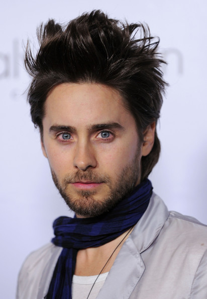 Jared Leto Actor Jared Leto arrives at Calvin Klein Collection & Los Angeles Nomadic Division (LAND) 1st Annual Celebration For L.A. Arts Monthly and Art Los Angeles Contemporary (ALAC) on January 28, 2010 in Los Angeles, California.
