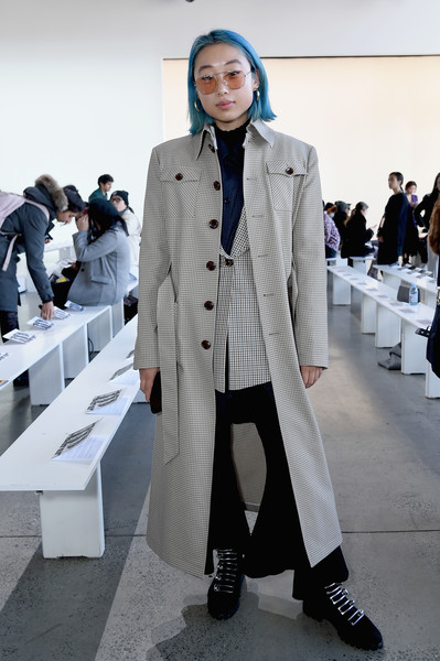 Calvin Luo - Front Row - February 2019 - New York Fashion Week: The Shows