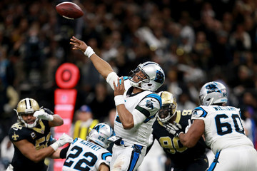Cam Newton Wild Card Round - Carolina Panthers v New Orleans Saints
