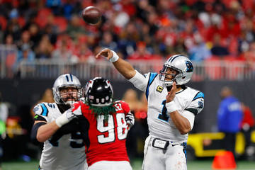 Cam Newton Carolina Panthers v Atlanta Falcons