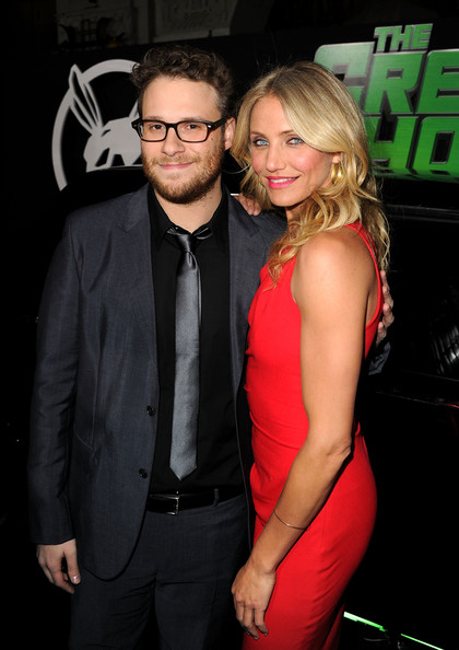 "Cameron Diaz Executive producer/writer/actor Seth Rogen and actress Cameron Diaz arrive at Columbia Pictures' ""The Green Hornet"" premiere at Grauman's Chinese Theatre on January 10, 2011 in Hollywood, California."