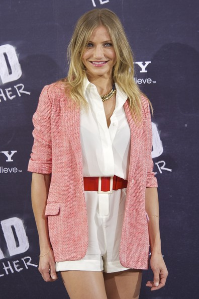 "Actress Cameron Diaz attends ""Bad Teacher"" Madrid photocall at Hotel Villamagna on June 13, 2011 in Madrid, Spain."