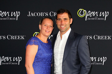 Cameron Smith Barbara Smith Andre Agassi Attends Open Film Series