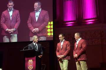 Cameron Smith Queensland Maroons State of Origin Media Opportunity and Training Session