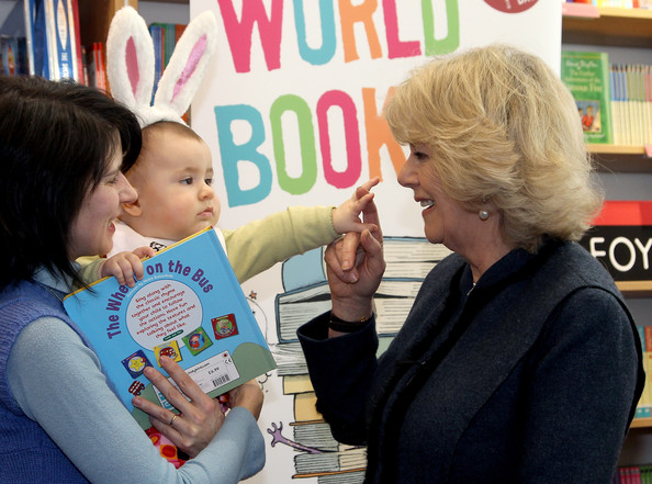camilla parker bowles children. Camilla Parker Bowles and Maria Carneiro - The Duchess Of Cornwall Joins Children To Celebrate World. The Duchess Of Cornwall Joins Children To Celebrate
