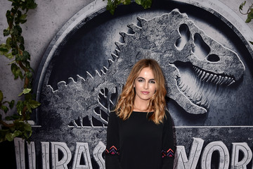 Camilla Belle Premiere of Universal Pictures' 'Jurassic World' - Red Carpet
