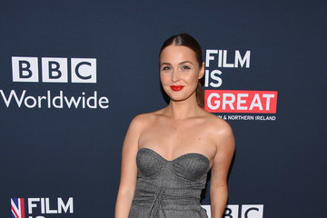 Camilla Luddington Film Is GREAT Reception Honoring British Nominees Of The 90th Annual Academy Awards - Arrivals
