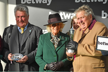 Camilla Parker Bowles The Cheltenham Festival 2020 - Day Two
